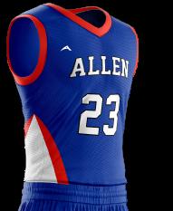 Basketball Jersey Pro 241 Side
