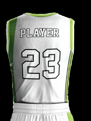 Basketball Jersey Pro 245 Back