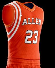 Basketball Jersey Pro 252 Side