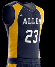 Basketball Jersey Pro 258 Side