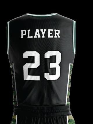 Basketball Jersey Pro 262 Back