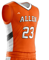 Basketball Jersey Sublimated 501 Side