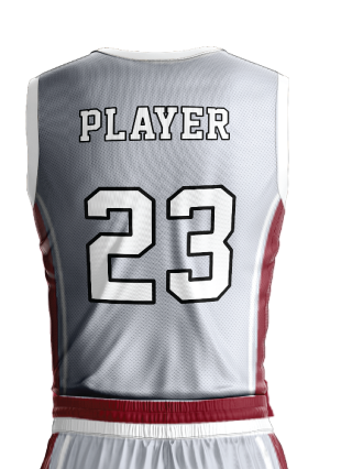 Basketball Jersey Sublimated 502 Back