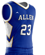 Basketball Jersey Sublimated 504 Side