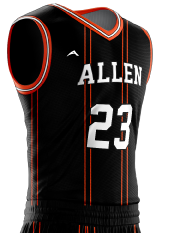 Basketball Jersey Sublimated 506 Side