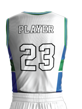 Basketball Jersey Sublimated 507 Back