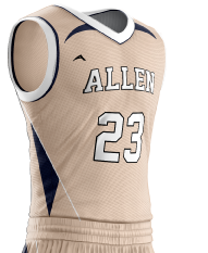 Basketball Jersey Sublimated 508 Side
