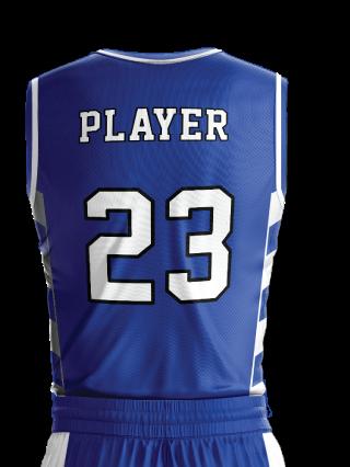 Basketball Jersey Sublimated 509 Back