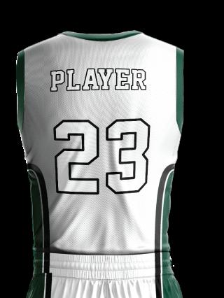 Basketball Jersey Sublimated 514 Back