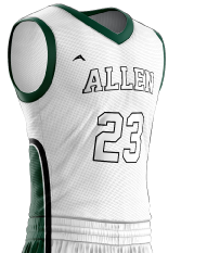 Basketball Jersey Sublimated 514 Side
