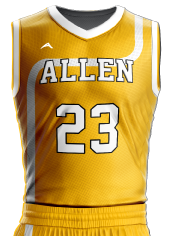 Basketball Jersey Sublimated 518