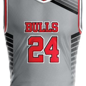 Image for Basketball Jersey Sublimated Bulls