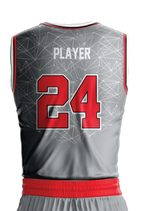 Basketball Jersey Sublimated Bulls Back