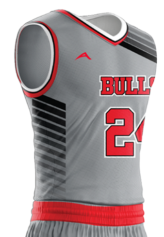 Basketball Jersey Sublimated Bulls Side