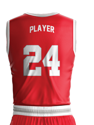 Basketball Jersey Sublimated College Back