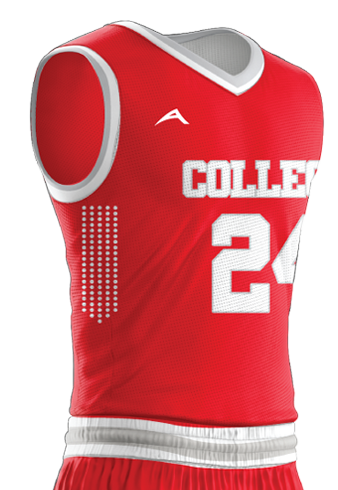Basketball Jersey Sublimated College Side