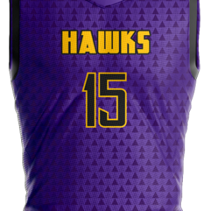 Image for Basketball Jersey Sublimated Hawks