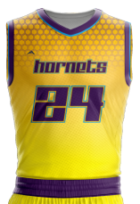 Basketball Jersey Sublimated Hornets