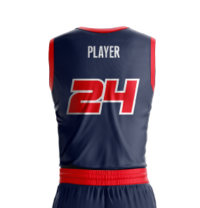 Basketball Jersey Sublimated Jets Back