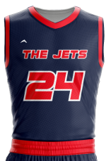 Basketball Jersey Sublimated Jets