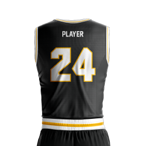 Basketball Jersey Sublimated Knights Back