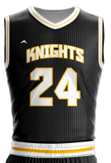 Image for Basketball Jersey Sublimated Knights
