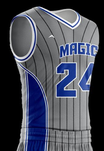 Basketball Jersey Sublimated Magic Side