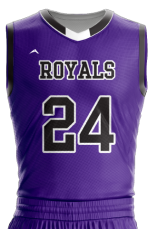Image for Basketball Jersey Sublimated Royals