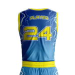 Basketball Jersey Sublimated Storm Back