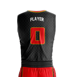 Basketball Jersey Sublimated Triad Back