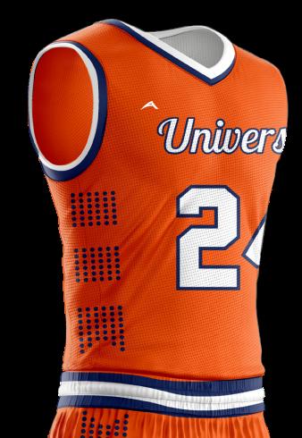 Basketball Jersey Sublimated University Side