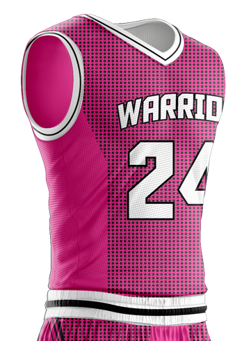 Basketball Jersey Sublimated Warriors Side