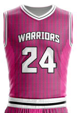 Image for Basketball Jersey Sublimated Warriors