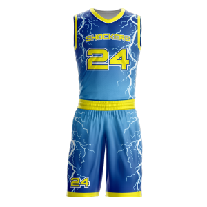 Image for Basketball Uniform Sublimated Shockers