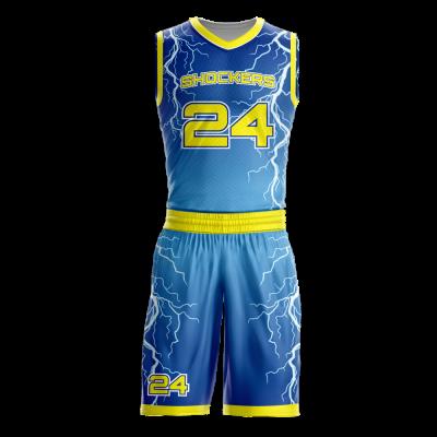 Basketball Uniform Sublimated Shockers