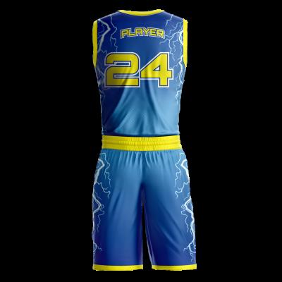 Basketball Uniform Sublimated Shockers Back
