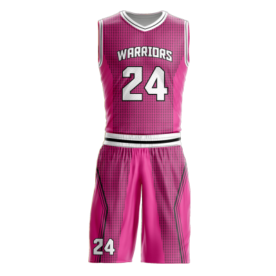 Basketball Uniform Sublimated Warriors