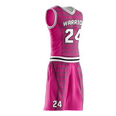 Basketball Uniform Sublimated Warriors Side