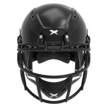 Black helmet shell, black facemask XRS  2 1S