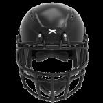 Black helmet shell, black facemask XRS  2 2S