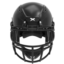 Black helmet shell, black facemask XRS  2 2S