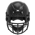 Black helmet shell, black facemask XRS  2 2X