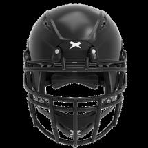 Black helmet shell, black facemask XRS  2 2X