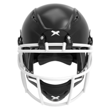 Black helmet shell, white facemask XRS  2 1S