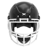 Black helmet shell, white facemask XRS  2 2S