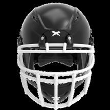 Black helmet shell, white facemask XRS  2 2X