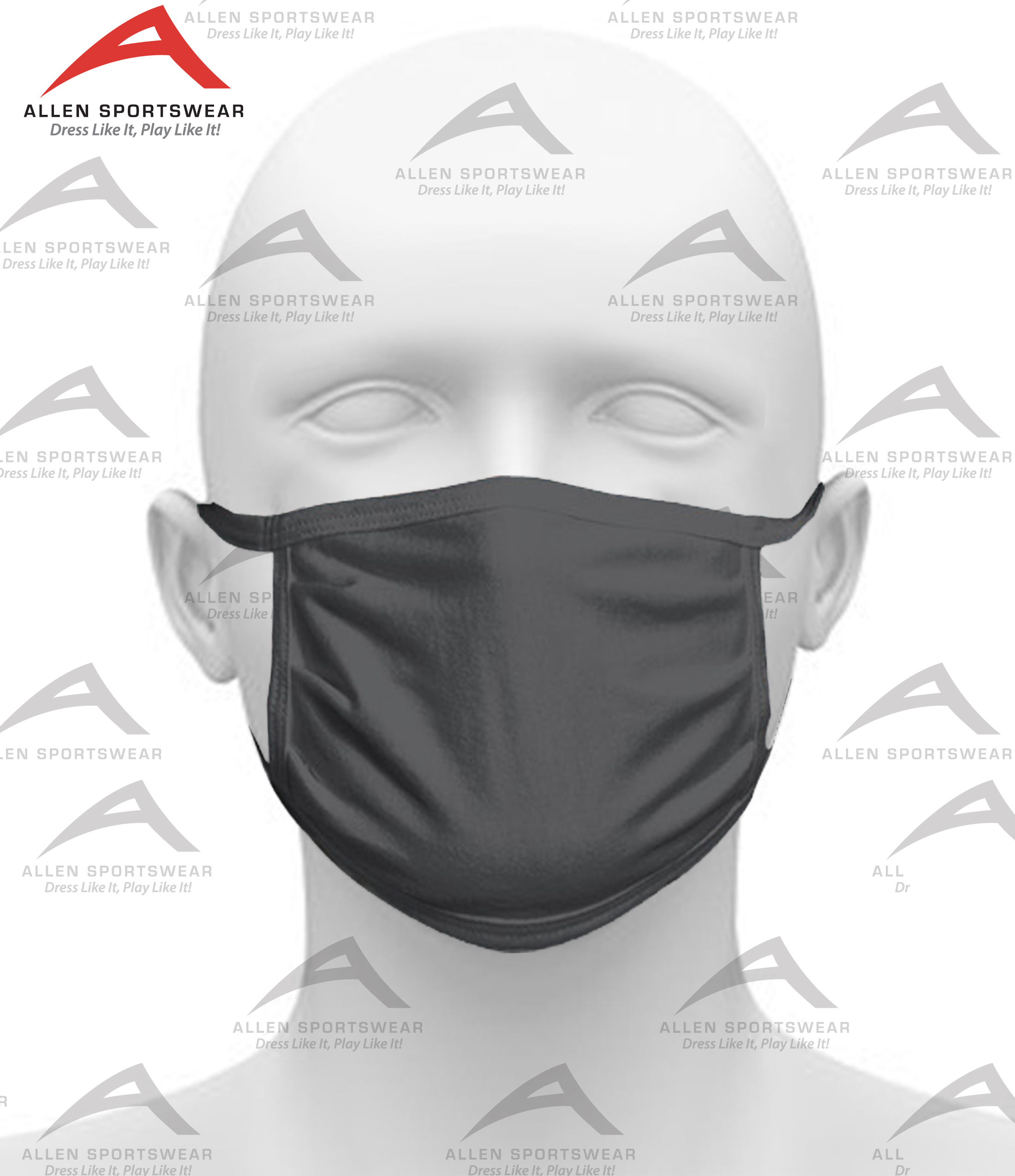 3 Ply Cotton Face Mask with Anti-Microbial