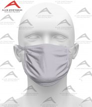 COTTON FACE MASK SILVER