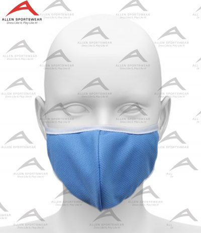 Face Mask Blue 3 Ply With Fabric Filter
