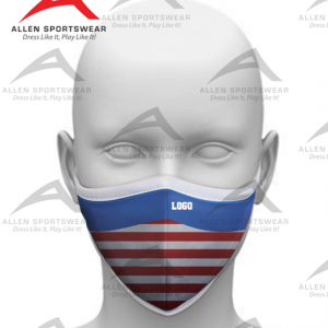 Image for Custom Face Mask 3 PLY COTTON-PATRIOT